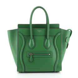 Luggage Bag Smooth Leather Micro