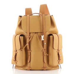 Christopher Backpack Vachetta Leather GM