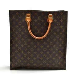 Louis Vuitton Sac Plat Monogram Canvas Tote Handbag LT843