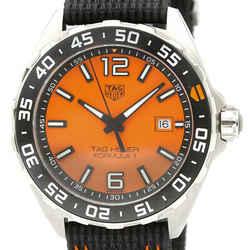 Never Used TAG HEUER Formula 1 Ceramic Steel Quartz Mens Watch WAZ101A BF532759