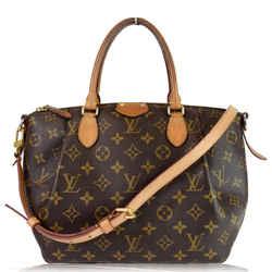 Louis Vuitton Turenne Mm Monogram Canvas 2 Way Shoulder Bag Brown