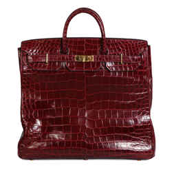 Hac In Burgundy Croc, 1972