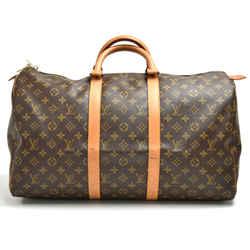 Vintage Louis Vuitton Keepall 50 Monogram Canvas Duffle Travel Bag LT917
