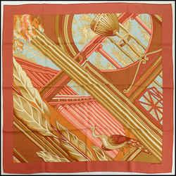 Rdc10812- Hermes Multicolor Reverie Pompeienne Ll 90cm Silk Scarf