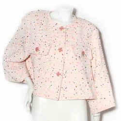 Chanel Pink Fantasy Tweed Jacket SS2019