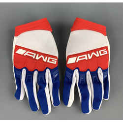 Alexander Wang Size M Blue & Red Polyamide Blend Gloves