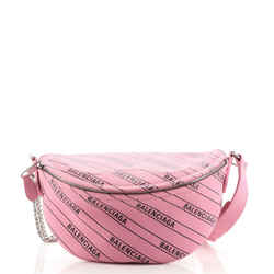 Souvenir Belt Bag Printed Leather XXS