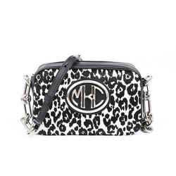Michael Kors Collection Animal Print Calf Hair Bag