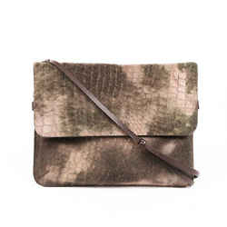 Brunello Cucinelli Bag Brown Calf Hair Flap