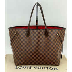 Louis Vuitton Neverfull GM Damier Ebene Tote N41357 A535 Authentic