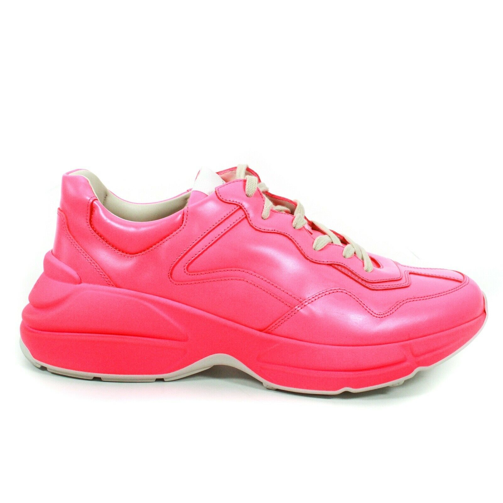 Gucci - NEW Rhyton Neon Pink Sneakers