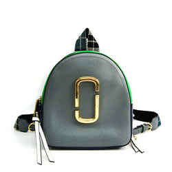 Marc Jacobs Pack Shot Pack Shot M0013992 Women's Leather Backpack Blue, BF518293