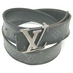 Louis Vuitton 90/36 Black Monogram Eclipse Ceinture Initiales 861446