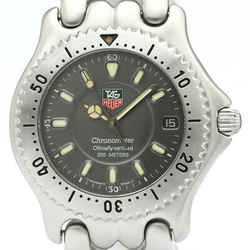 Polished TAG HEUER Sel 200M Chronometer Automatic Mens Watch S89.206 BF515693