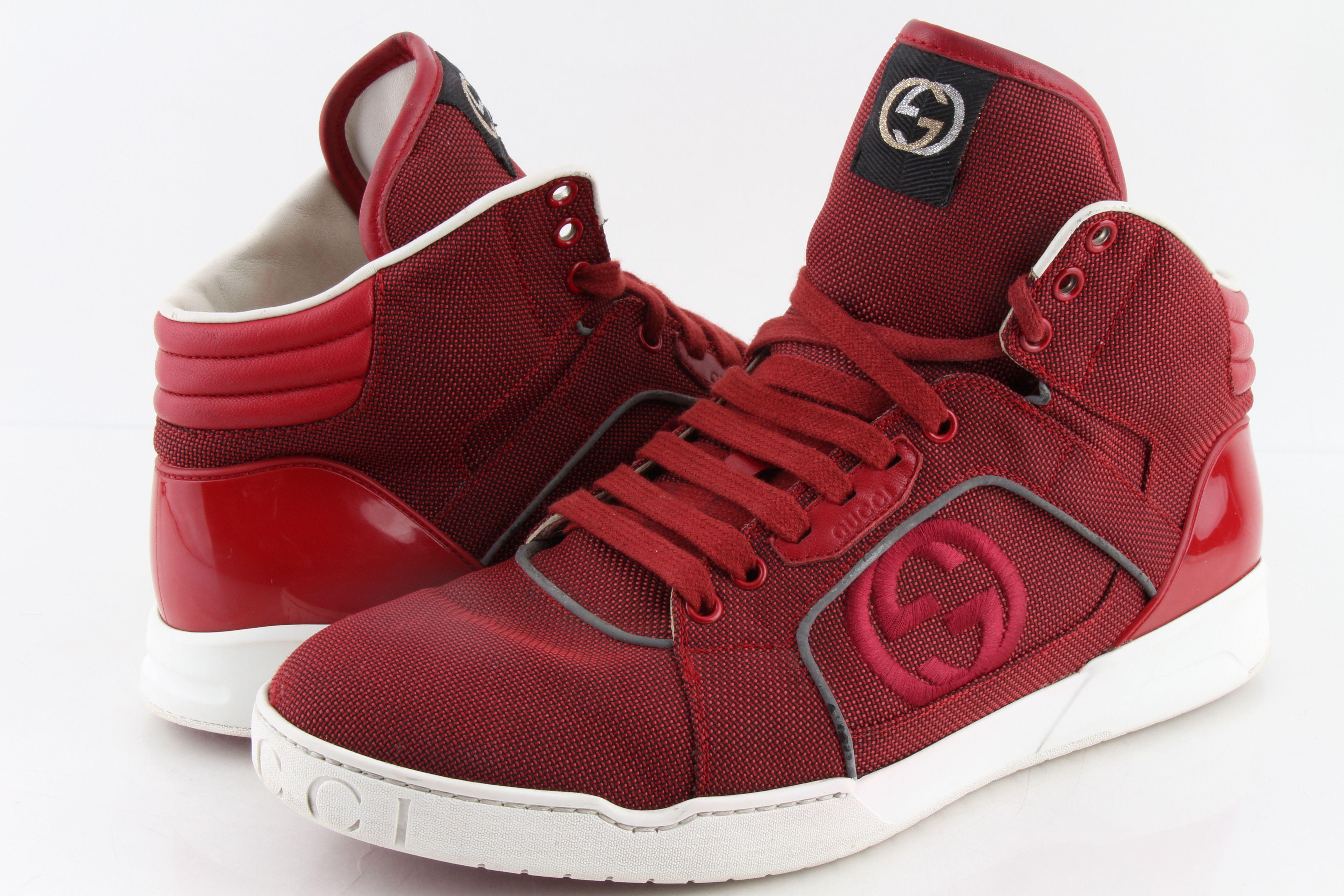 Gucci Men Rebound High-top Sneaker
