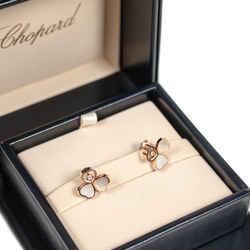 Chopard Happy Hearts Wings Rose Gold Earrings