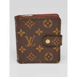 Louis Vuitton Monogram Compact Square Wallet 860299