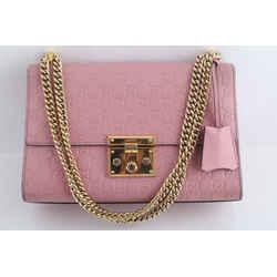 Gucci Padlock Signature Leather Shoulder Bag