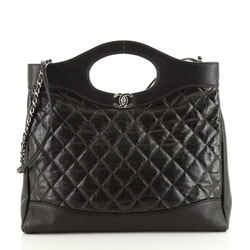 31 Shopping Bag Quilted Calfskin Large