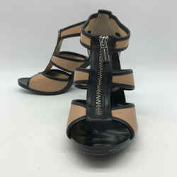 Michael Kors Tan T Strap Heel 10