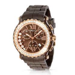 Chopard Happy Sport Chronograph 288515-9004 Unisex Watch in 18kt Rose Gold/Ceram