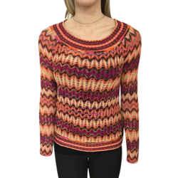 Women's Missoni Long Sleeve Knit Sweater. Size 44