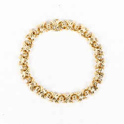 Tiffany & Co. Signature X 18k Gold Bracelet