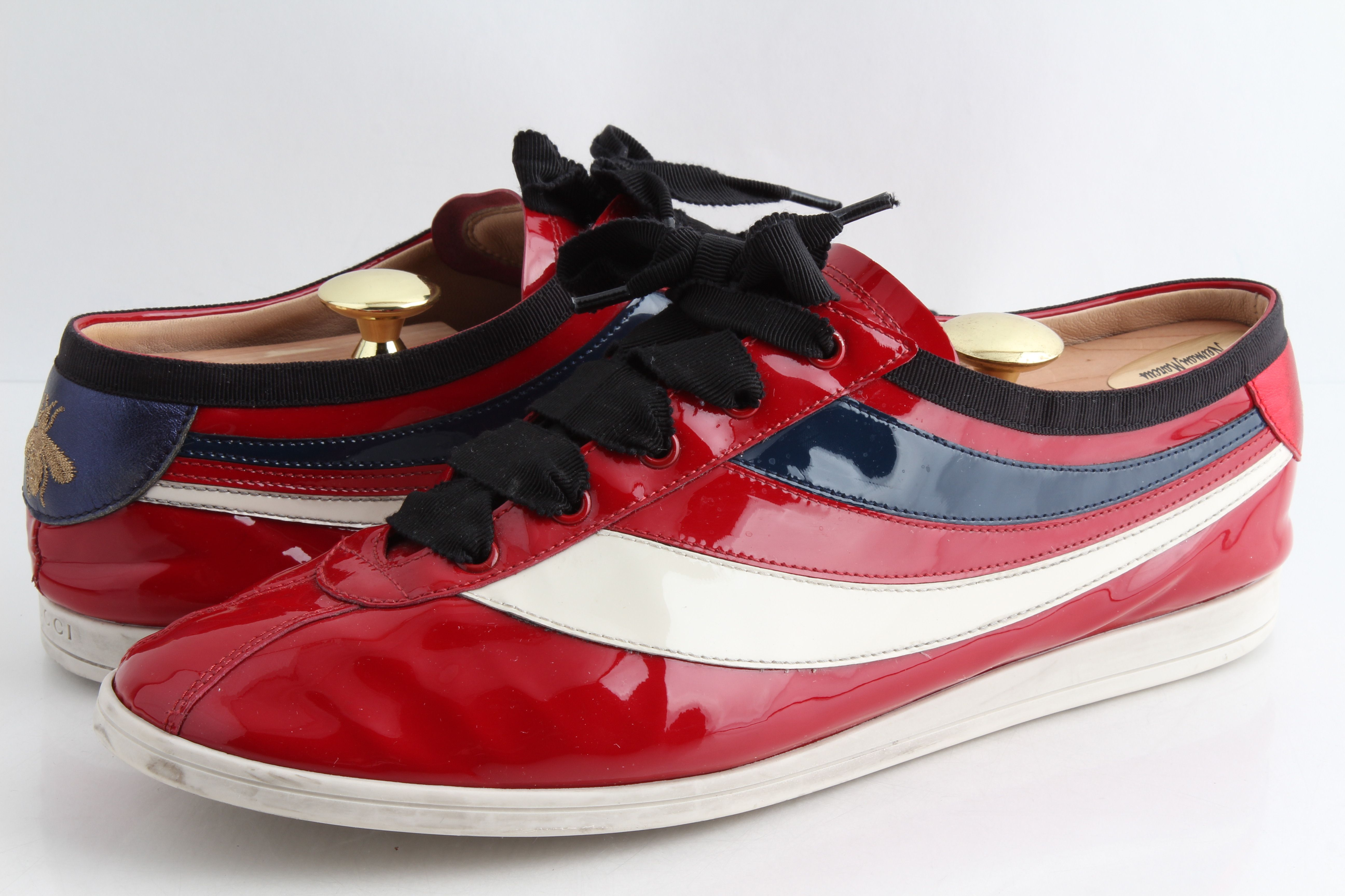 Gucci Falacer Sneaker with Web   LePrix