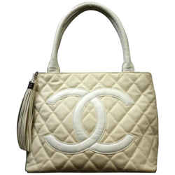 Chanel  Quilted Fringe Medallion Tote 223626