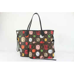 Louis Vuitton Monogram Macassar Fornasetti Neverfull MM Tote with Pouch 813lv15