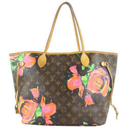 Louis Vuitton Stephen Sprouse Graffiti Roses Neverfull MM Tote Bag 61lvs423