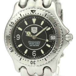 Polished TAG HEUER Sel Chronometer Steel Automatic Mens Watch WG5211 BF530133