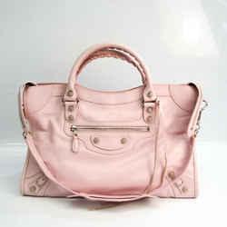 Balenciaga Giant City 281770 Women's Leather Handbag,Shoulder Bag Light BF535061