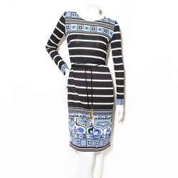 Pucci Stripe Jersey Dress