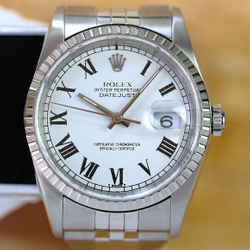 Rolex Datejust White Buckley Dial 36mm Watch-ALL FACTORY