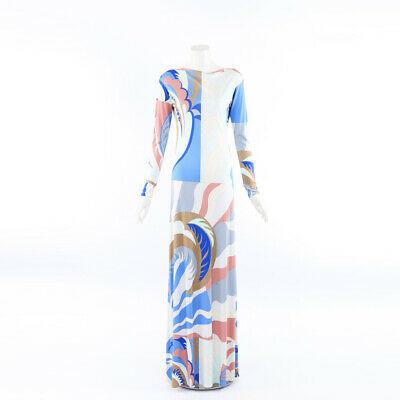 Pucci 2019 Printed Jersey Maxi Dress SZ 38