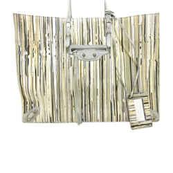Vintage Authentic Balenciaga Brown Papier A4 Lambskin Leather Tote Bag Spain