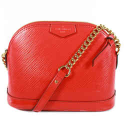 Louis Vuitton - Red Alma Epi Leather Mini Bag - Crossbody Chain Strap Lv Logo