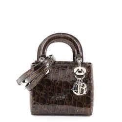 Lady Dior Bag Ultimate Embossed Patent Mini