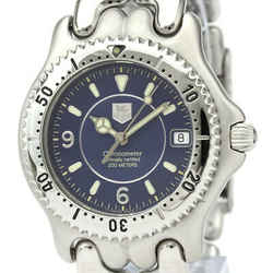 Polished TAG HEUER Sel 200M Chronometer Automatic Mens Watch WG5114 BF531435