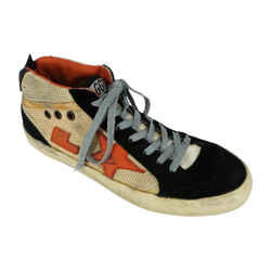 Golden Goose<br>Mid Star Colorblock Sneakers<br>Size: 8 | EU 38