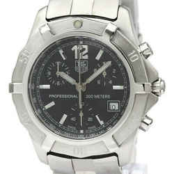 Polished TAG HEUER 2000 Stainless Steel Quartz Mens Watch CN1110 BF535045