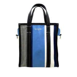 Vintage Authentic Balenciaga XS Bazar Shopper Lambskin Leather Satchel