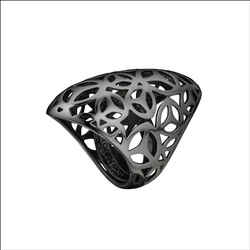 Brand New Di Modolo Sahara Ring In Plated Black Rhodium Retails For 295