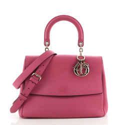 Be Dior Bag Pebbled Leather Medium