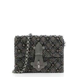 Lucrezia Shoulder Bag Embellished Fabric