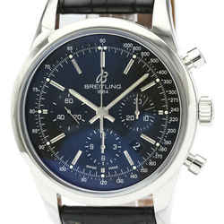 Polished BREITLING Transocean Chronograph Automatic Mens Watch AB0152 BF520322