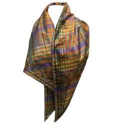 Hermes Giant Pointe Triangle Silk Scarf
