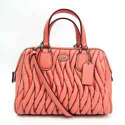 Coach Mini Nolita Satchel Gathered Leather 34370 Women's Leather Handba BF518694