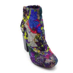 Nicholas Kirkwood Multicolored Lucite Heel Boots